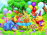 Pieces Puzzle 1000 Wooden Jigsaw Puzzles Picture Of Winnie The Pooh Balloon Round And Beautiful Assembly * Home Wall Decor Large Puzzle Game