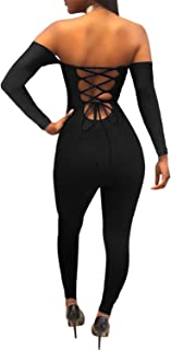Anewsex Strap Beach Jumpsuit Romper Women Backless Lace Up Femme Ladies Feather Print Playsuits Blue M