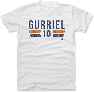 Yuli Gurriel Shirt - Houston Baseball Men's Apparel - Yuli Gurriel Houston Font