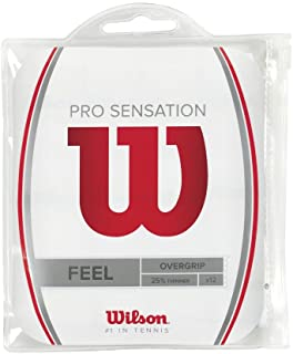 Wilson-New Pro Overgrip Sensation 12 Pack-()