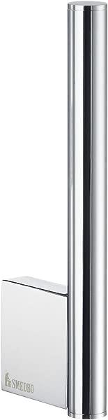 Smedbo SME AK320 Spare Toilet Roll Holder Wallmount Polished Chrome