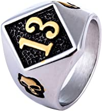 Best lucky 13 ring jewelry Reviews