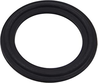 DERNORD Viton Rubber Gasket Tri-clamp O-Ring Fits Sanitary Tri-Clover Type Ferrule (Tri-Clamp Size: 1.5 Inch)