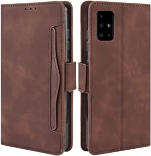 HualuBro Samsung Galaxy A71 5G Case, Magnetic Full Body Protection Shockproof Flip Leather Wallet Case Cover with Card Slo...