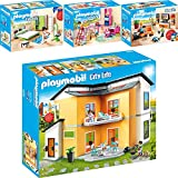 Playmobil 9266-67-70-71 Casa Moderna Set 3: 9266 + 9267 + 9270 + 9271
