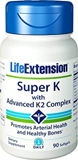 Life Extension Super K with Advanced K2 Complex (Three-Pack)