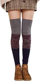 HYIRI Christmas lovely Crochet Socks,Women's Ladies Warm Winter Leg Leggings