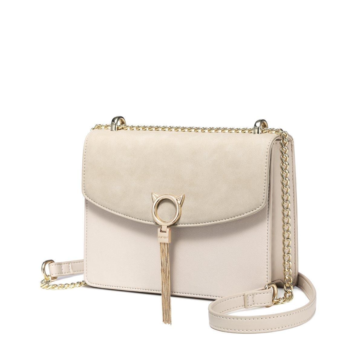ニュージーランドの女性のバッグ2018新しいファッションチェーンバッグ野生のショルダーバッグ韓国のタッセルメッセンジャーバッグレディースバッグ(暖かいカーキ色)