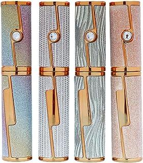 Beaupretty 4Pcs Íris Gradiente Rhinestone Vazio Vazio Tubos de Rímel Delineador Recipiente Tubo de Plástico Tubo Tubos de ...