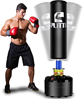 Xsport Pro Freestanding Punch Bag, Adult & Kids Heavy Bag with Durable Suction Base - Free Stand Punching Bag, Kickboxing Bags