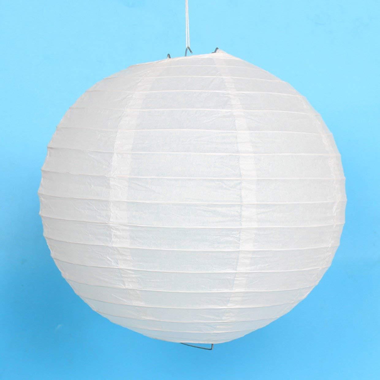 Lanterne boule blanche en papier /Ø 60 cm Boule chinoise