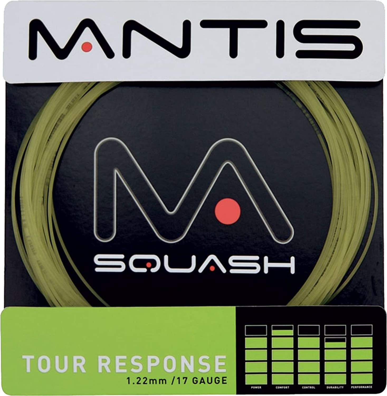 MANTIS Tour Response 17G Reel Table Tennis Squash Badminton Racket Soft String