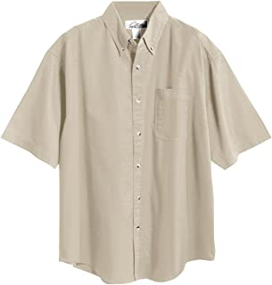 Men's Recruit Blend Twill Shirt with Teflon Stain Resistant Finish