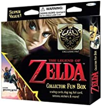 2016 Nintendo The Legend Of Zelda Collector's Trading Cards Value Box - 4 packs of 6 cards each (Assorted Pin)