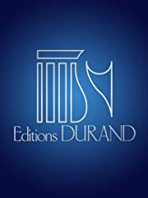 Editions Durand Sonate, Op 166 (Sonata) (for Oboe and Piano) Editions Durand Series