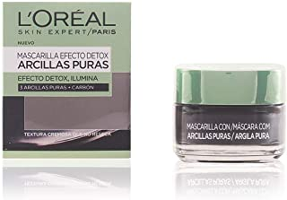 LOreal Paris Dermo Expertise - Arcillas puras mascarilla purificante color negro - total 50 ml