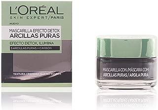 L'Oréal Paris Arcillas Puras Mascarilla Facial  Limpiadora Negra - 50 ml