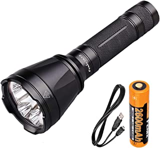 Image of Fenix TK32 1000 Lumens Tri-Color LED Tactical Flashlight w/USB Rechargeable Battery and LumenTac USB Charging Cable