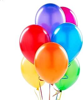 PMLAND Assorted 7 Colors Latex 12 Inch Balloons - 84 Pcs 1 Dozen per Color