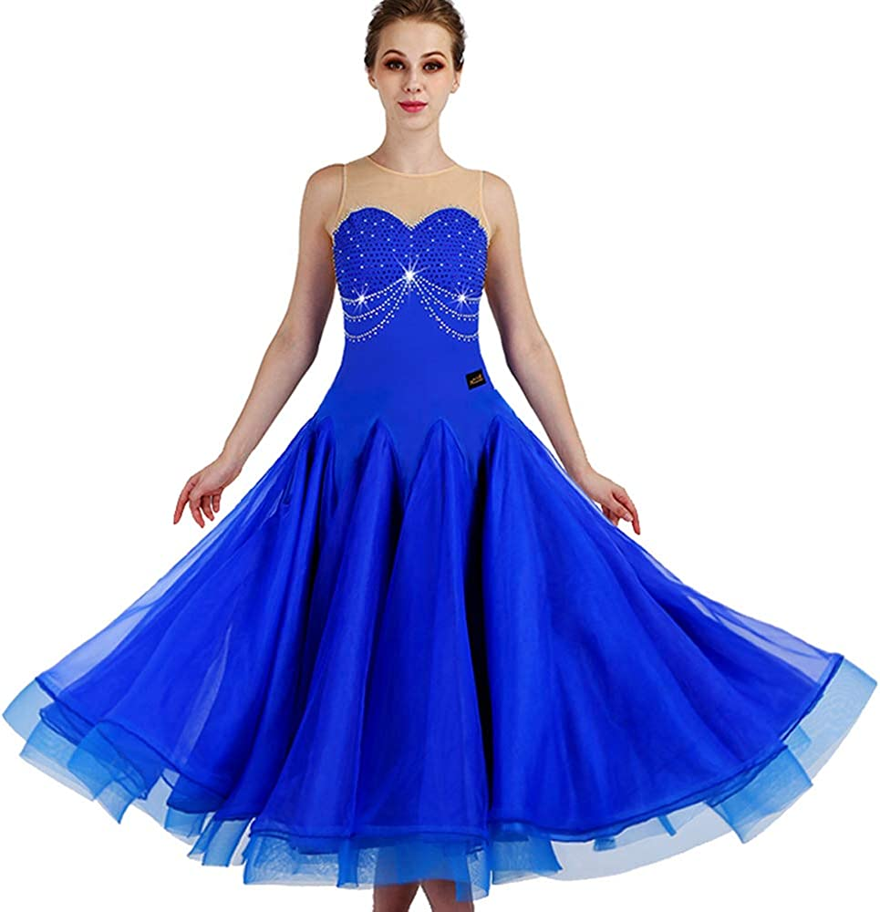 New Latin Ballroom Dance Brand new Max 71% OFF Dress Standard Salsa Waltz Long Modern
