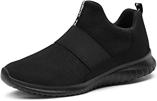 Women's Slip on Sneakers - Comfortable Walking Tennis Athletic Casual Shoes