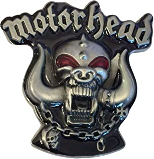 motorhead belt buckle