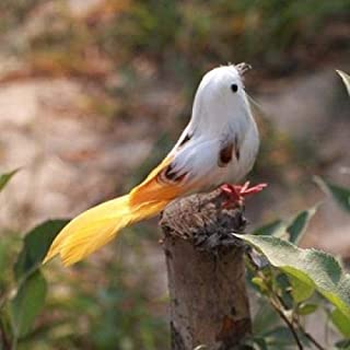 Animal Sculpture Statuebeautiful Pastoral Birds Hand Crafts Props Home Garden Decoration -V K