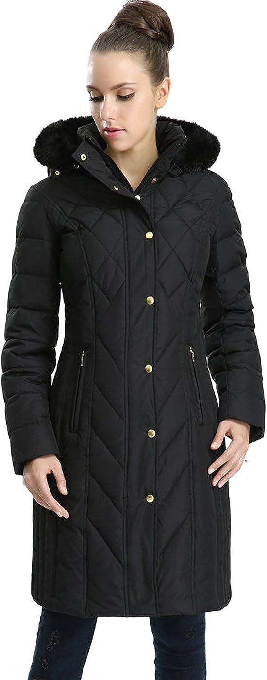 BGSD Women's Addi Waterproof Down Parka Coat (Regular and Plus Size)