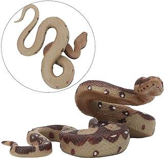 Accessoires de Jardin d/écoration de Halloween Ruibuy Les Jouets r/éalistes de Tour de Faux Serpents pour la Plaisanterie farces