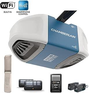 Chamberlain B750 3/4 HP Equivalent Ultra-Quiet Belt Drive Smart Garage Door Opener