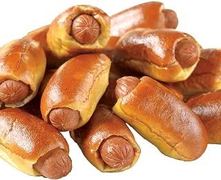 Super Mini Beef Hot Dog Soft Pretzel -- 60 per case.