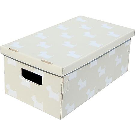 2 unit/à 50x40xh25 cm KANGURU BAULOTTO Scatola portaoggetti in Cartone Multicolor