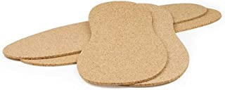 The Felt Store Cork Insoles, 2 Pack, Size 9