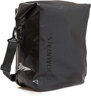 1e3076b0415 Steinwood Bicicleta Bolsa negro 25 litros para portaequipajes Bolsa de  hombro Bicicleta Mochila Bolsa de montar