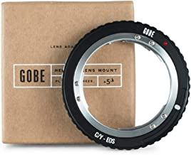 Gobe Lens Mount Adapter: Compatible with Contax/Yashica (C/Y) Lens and Canon EOS (EF/EF-S) Camera Body