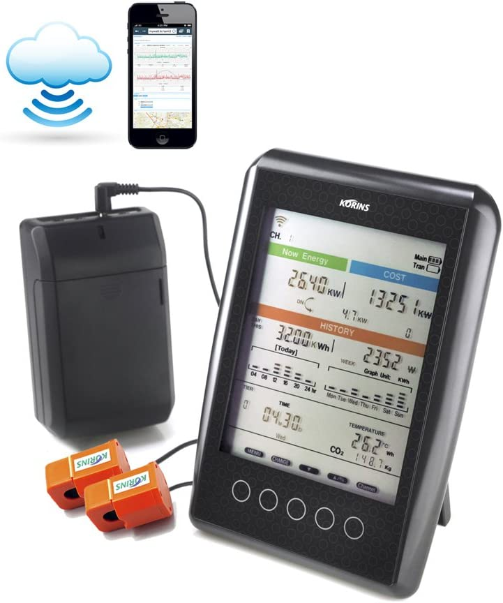 Korins Max 74% OFF MyWatt 10ch. Popular Wireless Electricity with Cloud Monitor Serv