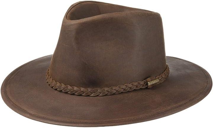 Cappello western buffalo leather donna/uomo stetson B082YM3185