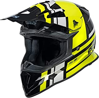 IXS 361 2.3 Motocross Helm Schwarz Matt/Gelb L 59/60