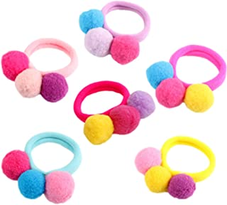 comprar comparacion Cosanter 6 Piezas Goma de Pelo Multi Candy Color Lazo de Pelo Elástico Banda de Goma para Bebé Niña de Niños