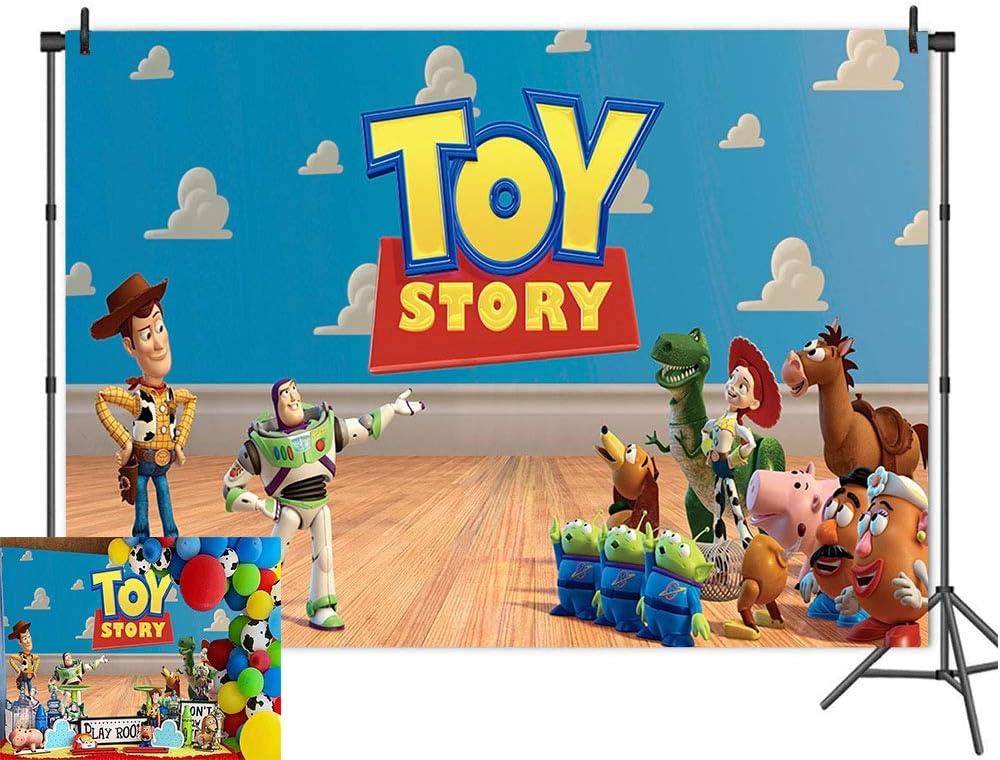 Cartoon Boy Toy Story Photography Backdrops It's A Boy Story The