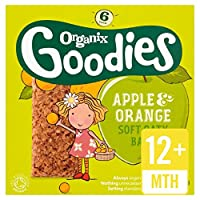 Organixは、有機りんご&オレンジシリアルバー6×30グラムをグッズ (x 6) - Organix Goodies Organic Apple & Orange Cereal Bars 6 x 30g (Pack of 6) [並行輸入品]