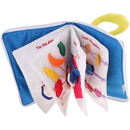 知育玩具 赤ちゃん ほん 子供用絵本 学習 多機能 破れない ソフトブック 布のおもちゃ