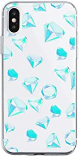 Oihxse Funda Dibujos Diamantes Brillantes Compatible Xiaomi Redmi 7A Transparente Silicona TPU Bumper Case Ultra Delgado C...