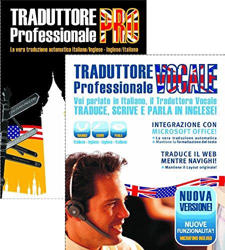 Traduttore vocale italiano-inglese, inglese-italiano. CD-ROM