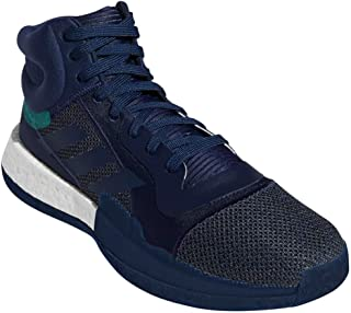 adidas Men's Marquee Boost Basketball Collegiate Navy/LGH Solid Grey/Grey Six