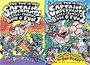 The Captain Underpants Two-in-One Extra-Crunchy Book o' Fun 1 and 2: Comics, Laffs, Puzzles, Stickers, Flip-o-Ramas, Jokes, 'n' Other Cool Stuff