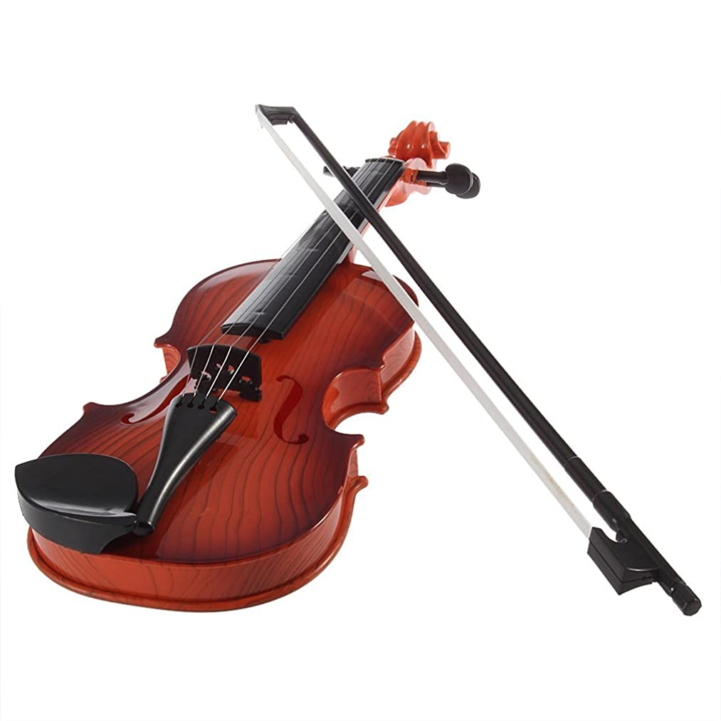 Ireav Electronic Toy Violin for Kids Boy Girl Gift Musical Instrument Toys Beginner Practice Violin
