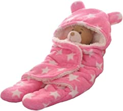 Cutieco Luxury Series Super Soft Baby Wrapper, Pink