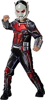 Rubies 640487L Marvel Vengadores Ant-Man Deluxe - Disfraz infantil para niños, talla grande