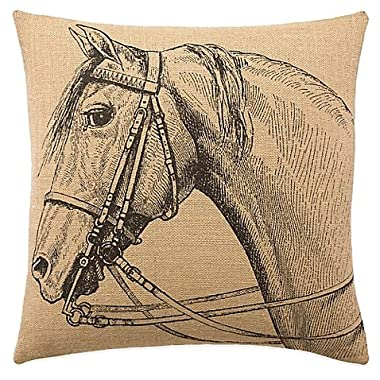 NicholasArt Lady Antebellum Heartland? Delta Queen Square Throw Pillow in Brown